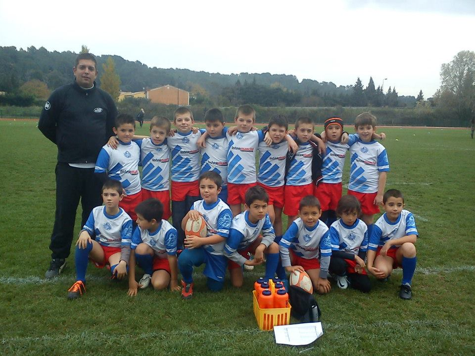 rugby sorgues equipe -9 tournoi orange